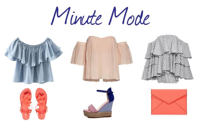 #MinuteMode : dévoiler ses épaules